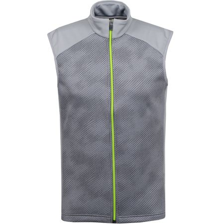 Golf undefined Diaz Insula Bodywarmer Sharkskin/Lime - AW19 made by Galvin Green