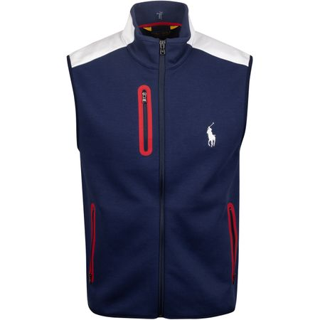Jacket x Justin Thomas Double Knit Vest French Navy - AW19 Polo Ralph Lauren Picture