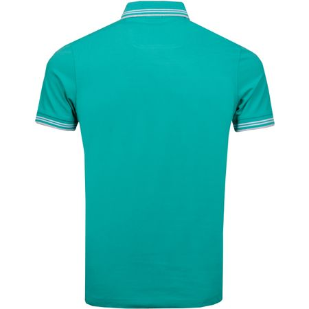 Polo Paul Curved Pool Green BOSS Picture
