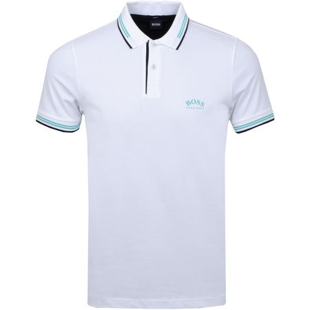 Polo Paul Curved Training White BOSS Picture