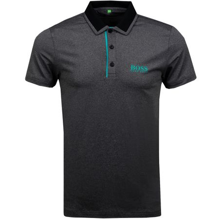 Polo Paule Pro 1 Black BOSS Picture