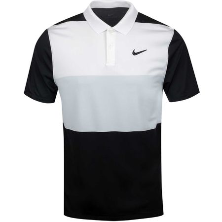Golf undefined Dry Vapor Colourblock Polo White/Pure Platinum made by Nike Golf