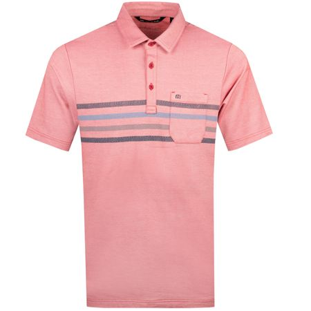 Polo Choma Heather Cardinal TravisMathew Picture