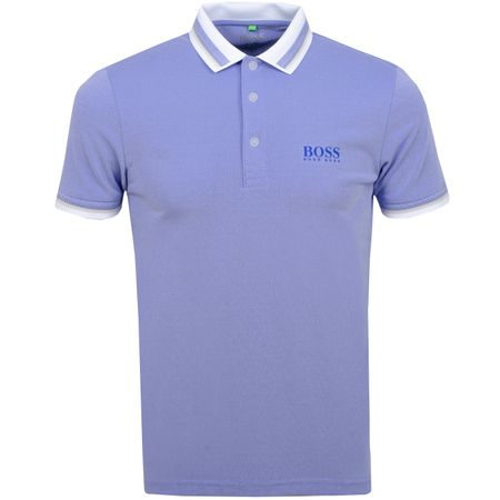 Polo Paule Pro 4 Training White BOSS Picture