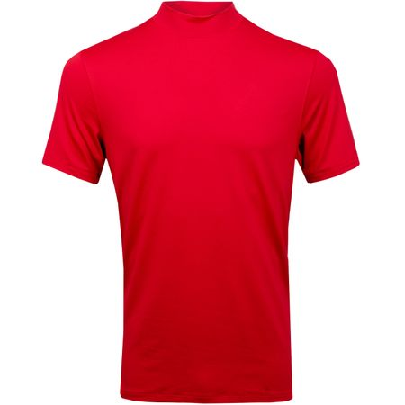 Polo TW Vapor Dri-Fit Mock Polo Gym Red Nike Golf Picture