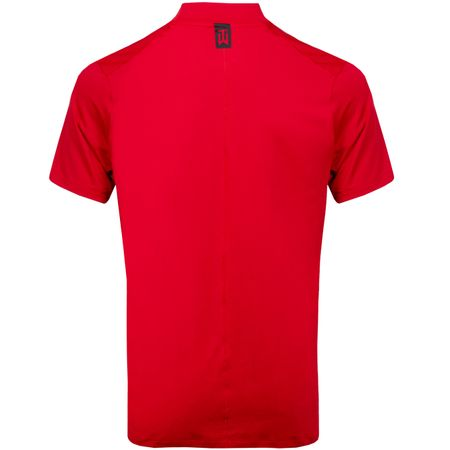 Golf undefined TW Vapor Dri-Fit Mock Polo Gym Red made by Nike Golf