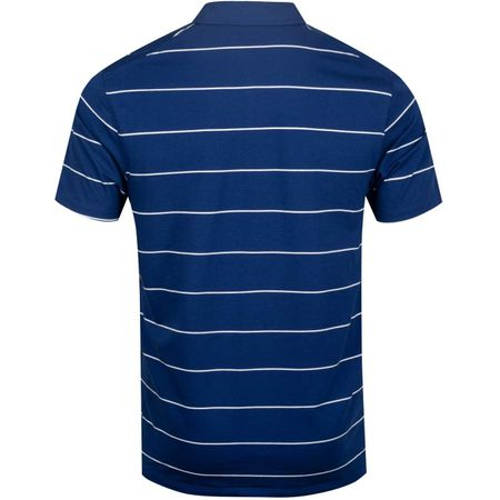 Golf undefined Dry Player Polo Stripe Blue Void/Sail made by Nike Golf