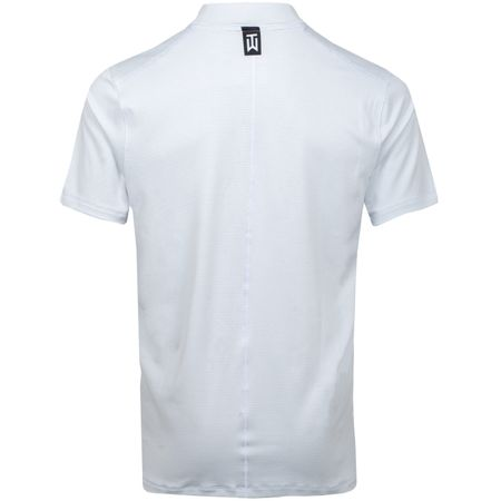 Golf undefined TW Vapor Dri-Fit Mock Polo Pure Platinum made by Nike Golf