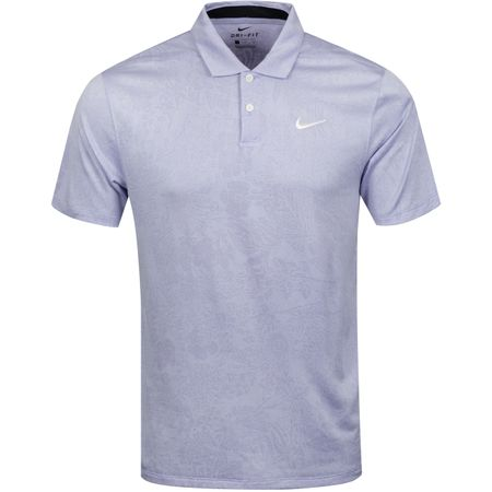 Polo Breathe Vapor Jacquard Print Polo Oxygen Purple Nike Golf Picture