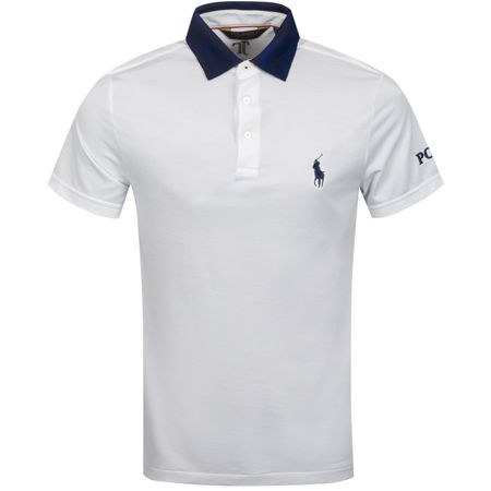 Golf undefined x Justin Thomas Contrast Collar Tour Pique Pure White - AW19 made by Polo Ralph Lauren
