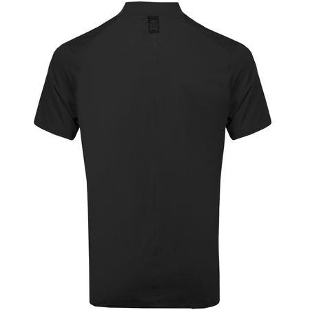 Polo TW Vapor Dri-Fit Mock Polo Black Nike Golf Picture
