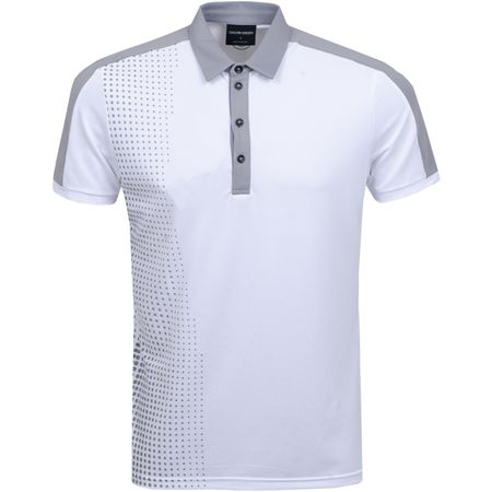 Golf undefined Moe Ventil8+ Polo White/Sharkskin - AW19 made by Galvin Green