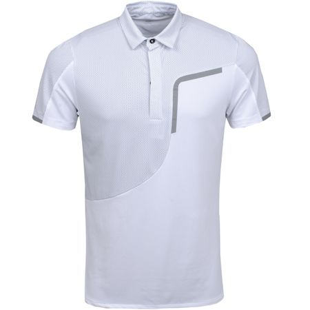 Golf undefined Morty Ventil8+ Polo White/Sharkskin - AW19 made by Galvin Green