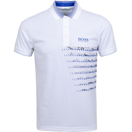 Polo Paule Pro 2 Training White BOSS Picture