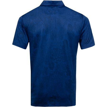 Golf undefined Breathe Vapor Jacquard Print Polo Blue Void/Obsidian - 2019 made by Nike Golf