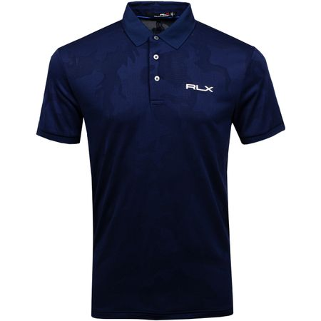 Golf undefined Engineered Jacquard Polo French Navy Camo - AW19 made by Polo Ralph Lauren