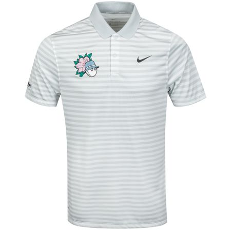 Golf undefined x Nike Magnolia Buckets Stripe Polo Pure Platinum/White - 2019 made by Malbon Golf