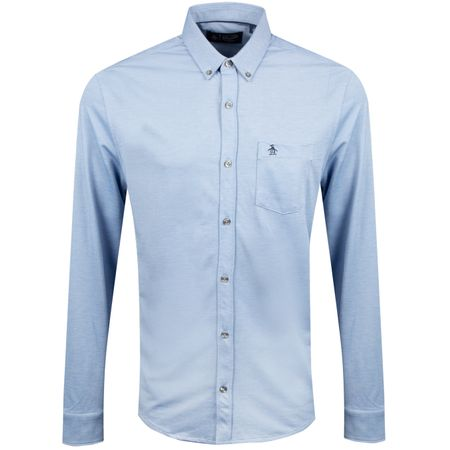 Golf undefined Oxford Matte Button Down Turkish Sea - AW18 made by Original Penguin