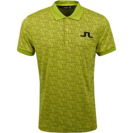 Golf undefined Big Bridge TX Jacquard Regular Fit JL97 Yellow - SS19 made by J.Lindeberg