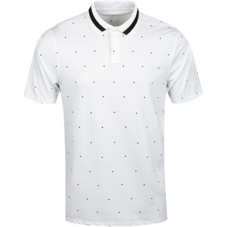 Polo Dry Vapor Print Polo White/Black - 2019 Nike Golf Picture