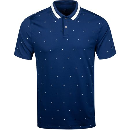 Polo Dry Vapor Print Polo Blue Void/Sail - 2019 Nike Golf Picture