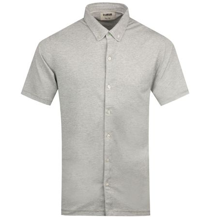 Polo Dry Tech Full Button BD Texture Polo Grey - 2019 Linksoul Picture