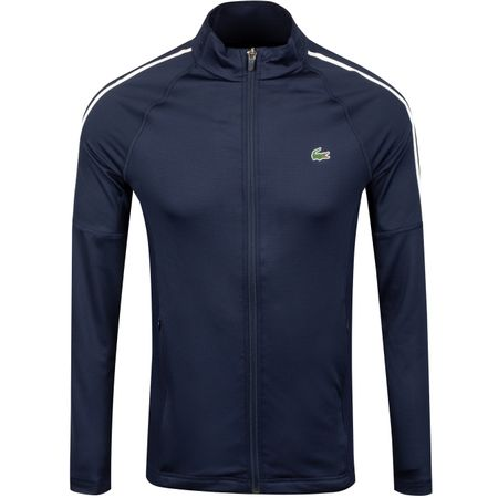 Golf undefined Stretch Technical Midlayer Navy/White - SS19 made by Lacoste