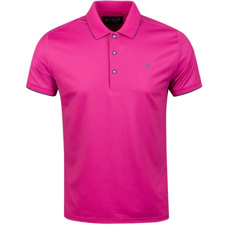 Golf undefined Geo Square Polo Very Berry - SS19 made by Original Penguin