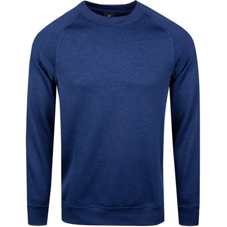 Golf undefined Dry-Fit Crew Sweater Blue Void - SS19 made by Nike Golf