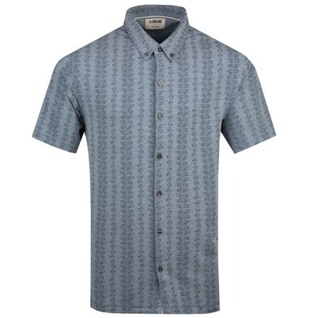 Polo Dry Tech Full Button Floral Polo Dawn Heather - SS19 Linksoul Picture