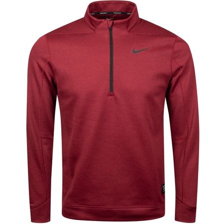 Golf undefined Therma Repel Half Zip Night Maroon - SS19 made by Nike Golf