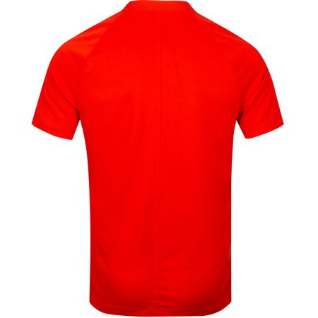 Polo Dry Momentum Raglan Sleeve Polo Habanero Red - 2019 Nike Golf Picture
