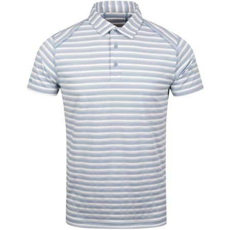 Polo Limited Edition Flatiron Jacquard Slim Polo Quiet Harbour - SS19 Bonobos Picture