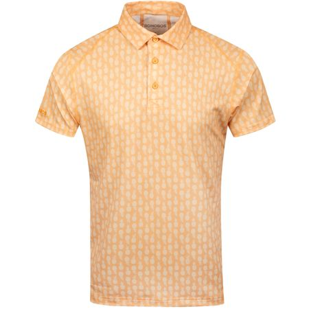 Polo Limited Edition Printed Pique Slim Polo Pineapple Stamp - SS19 Bonobos Picture