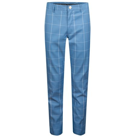 Golf undefined Highland Pants Slim Blue Windowpane - SS19 made by Bonobos