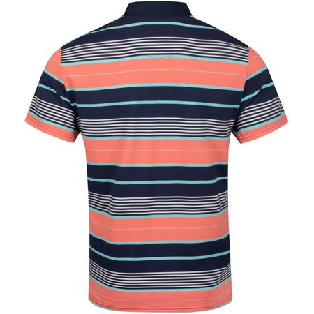 Polo Vacation Stripe Polo Black Iris - SS19 Original Penguin Picture