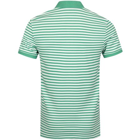 Golf undefined Stripe Performance Pique Raft Green/White - SS19 made by Polo Ralph Lauren