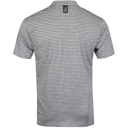 Polo TW Vapor Dry Stripe Polo Black/Pure Platinum - SS19 Nike Golf Picture