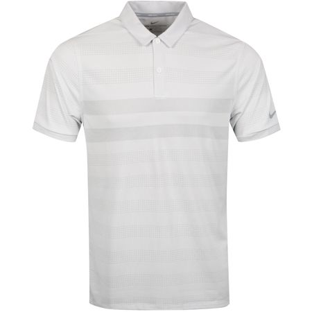 Polo Zonal Cooling Stripe Polo White - SS19 Nike Golf Picture