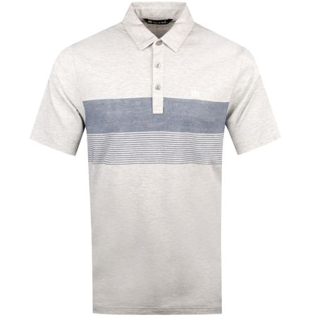 Polo The Pitt Heather Grey - SS19 TravisMathew Picture
