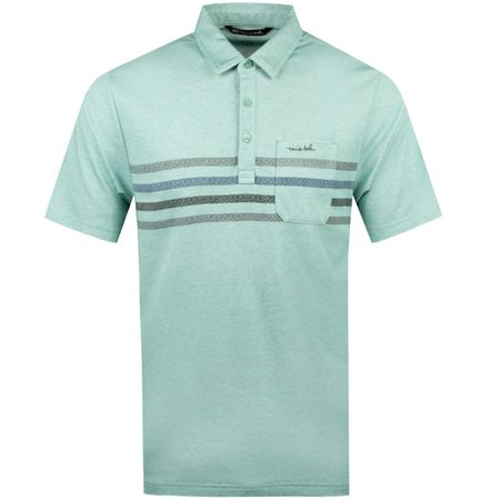 Polo Oh Snap Heather Beryl Green - SS19 TravisMathew Picture