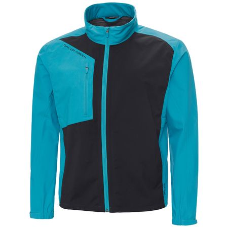 Golf undefined Andres Gore-Tex Stretch Jacket Lagoon Blue/Black - SS19 made by Galvin Green
