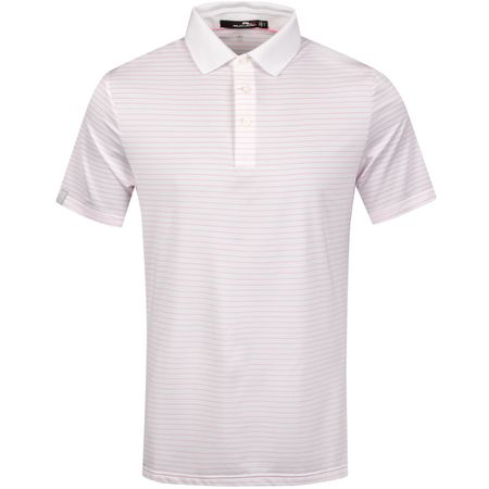 Polo Lightweight Airflow Stripe White/Pink Flamingo - SS19 Polo Ralph Lauren Picture
