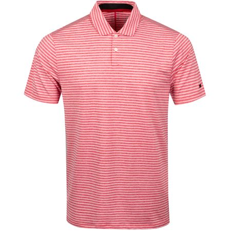 Polo TW Vapor Dry Stripe Polo Gym Red - SS19 Nike Golf Picture