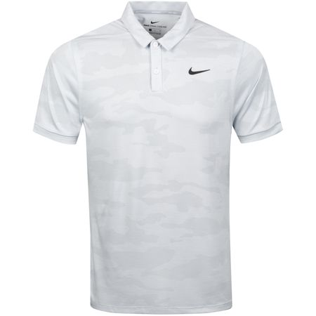 Golf undefined Zonal Cooling Camo Polo White - SS19 made by Nike Golf