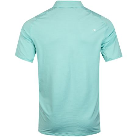 Golf undefined Soren Stripe Polo Blue Turquoise/White - SS19 made by Kjus