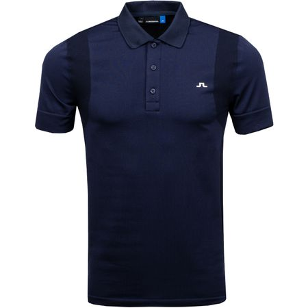 Polo Isaac Lightweight Seamless JL Navy - SS19 J.Lindeberg Picture