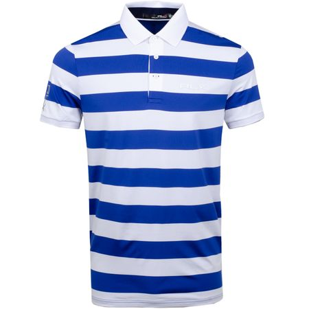 Polo Bold Stripe Airflow Royal Blue/Pure White - SS19 Polo Ralph Lauren Picture