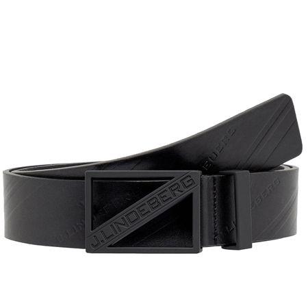 Belt Slanted Pro Leather Black - SS19 J.Lindeberg Picture