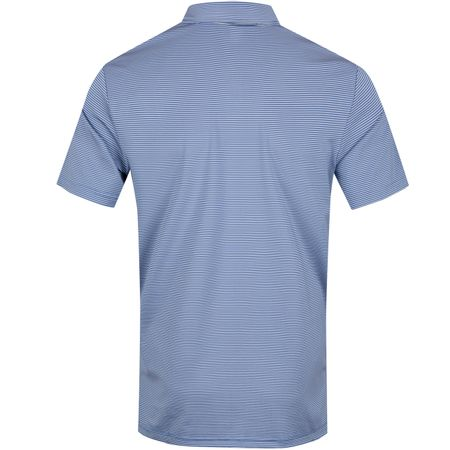 Golf undefined Lightweight Airflow Stripe Polo New England Blue - SS19 made by Polo Ralph Lauren